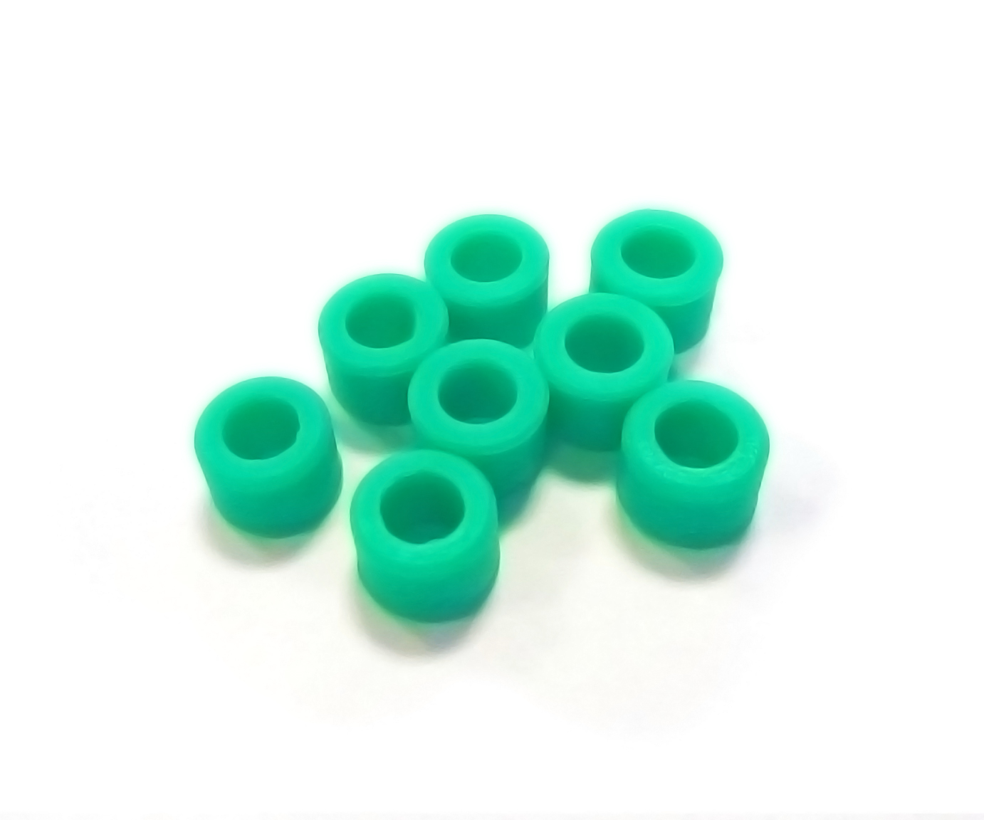 Instrument Ring - Small Green - 8pcs