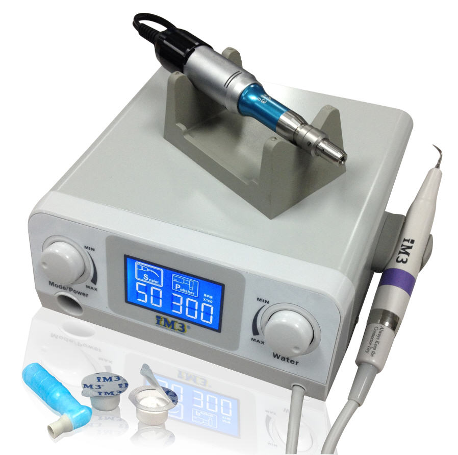 iM3 SP6 Micromotor & LED Scaler combo