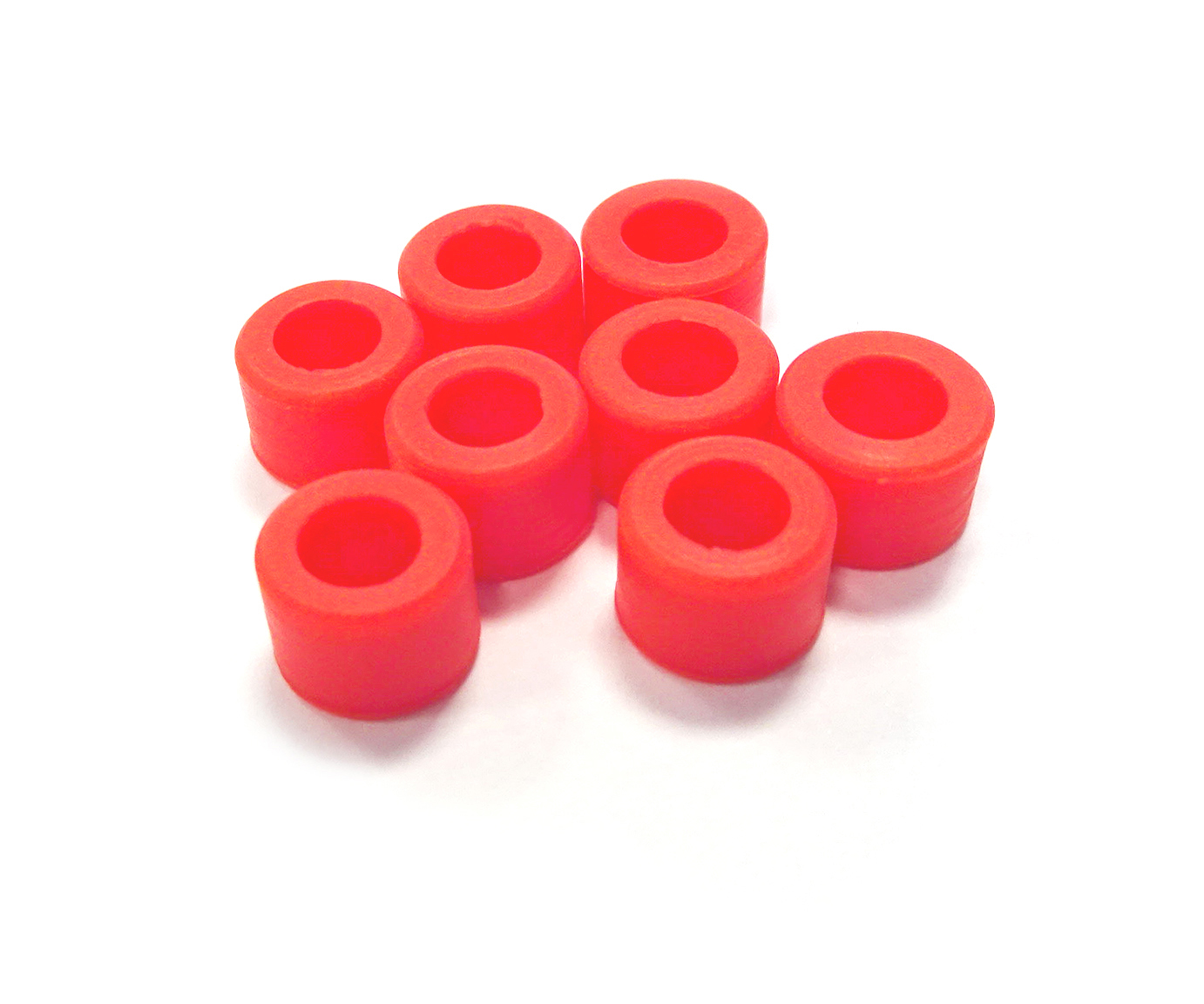 Instrument Ring - Small Red - 8pcs